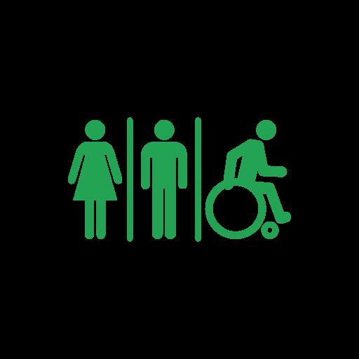 toilet facilities inc disabled logo