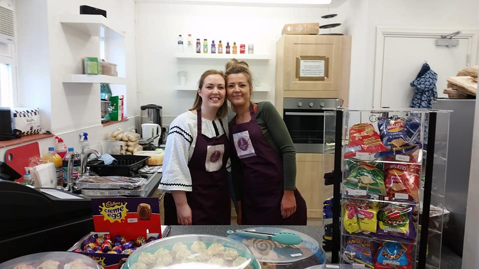 Pavillion Cafe Zoe and Lindsey